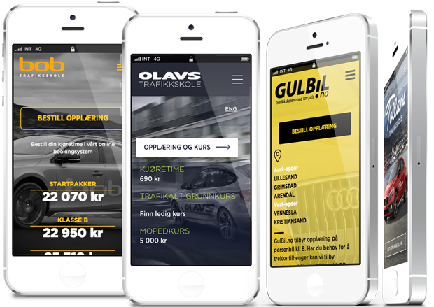 mobile responsive nettsider